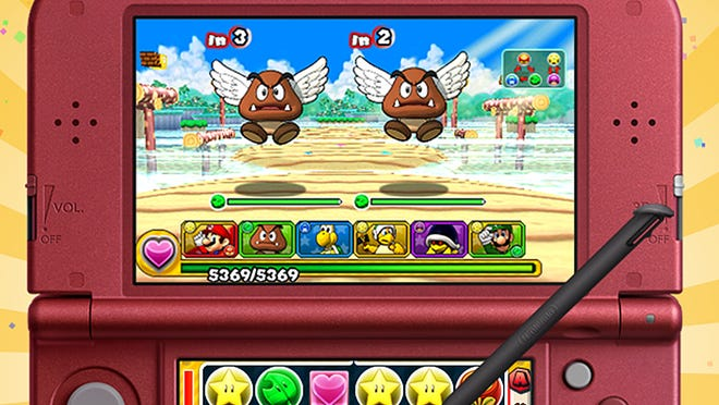 "Mario and friends join the mix in ""Puzzle and Dragons Z + Super Mario Edition"" for the Nintendo 3DS."