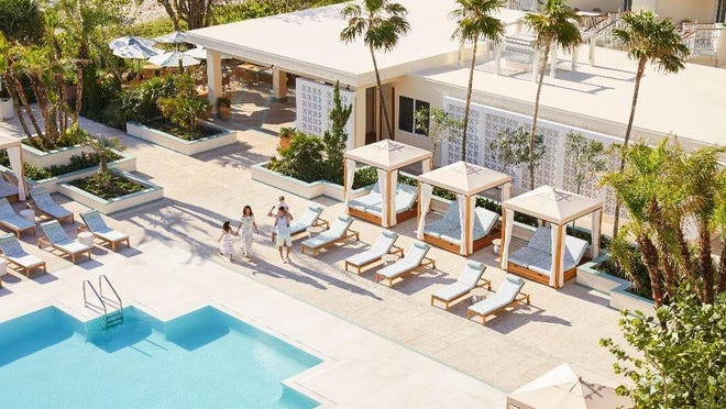 The annual Forbes Travel Guide gave The Four Seasons five stars for both the resort and the spa.