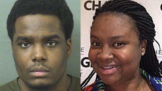 Dametri Dale, left, is the third man to be indicted in the June 2017 murder of Makeva Jenkins, right.