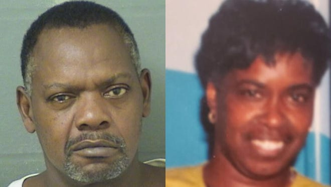 Leon Fitzgerald Thomas, left, is charged in the October 2019 killing of his wife, Debra Dunbar, right.