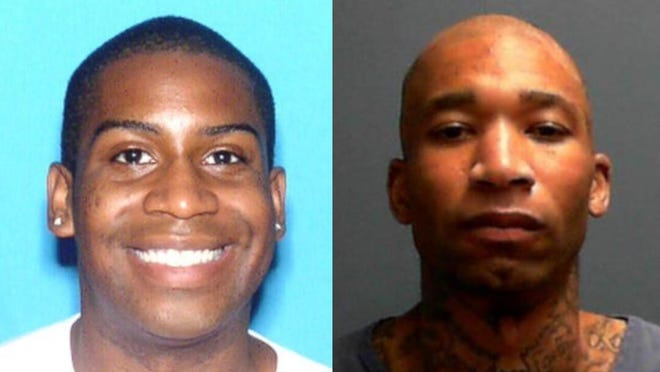 Tony Paramore, right, is facing charges in the 2015 murder of Alex Johnson, left.