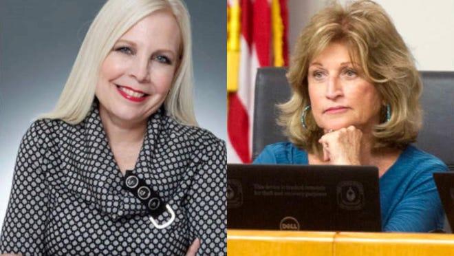 Bonnie Jo Pettinga is seeking a seat on the Palm Beach County school board.