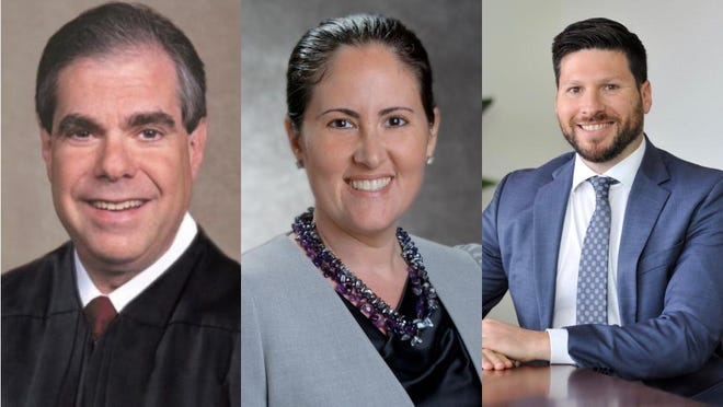 Palm Beach Circuit Judge Jaimie Goodman is defending his seat against challenges from Caryn Siperstein and Adam Myron.
