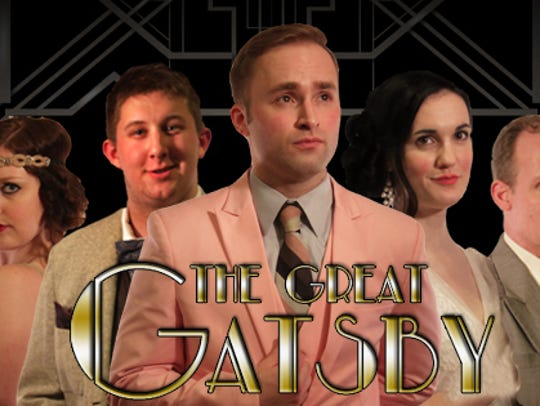 "The Masquers' production of ""The Great Gatsby."" Pictured,"