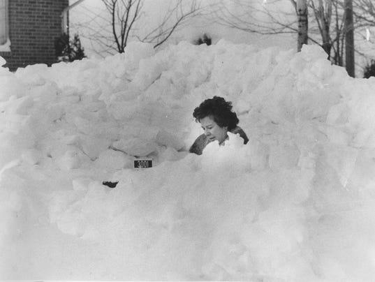 Marie Britt blizzard 1978
