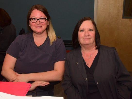 Tiffany Norton and Anita Clark say University Eye Specialists