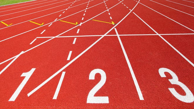 High School track and field.