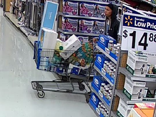 Jackson police believe three men are involved in a theft from Walmart on South Highland and Kroger on North Parkway Jan. 14 and 15.