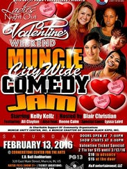 Muncie City Wife Comedy Jam will bring a night of laughs