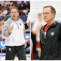 Tom Izzo nearly left MSU 15 years ago for the NBA's Atlanta Hawks. He'll face the coach who took that job in the Sweet 16 today, Oklahoma's Lon Kruger.