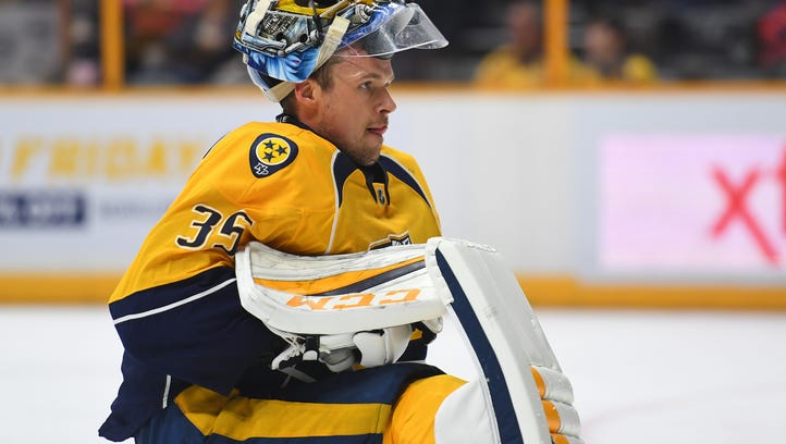 Pekka Rinne first Predator named NHL's 'First Star' of month
