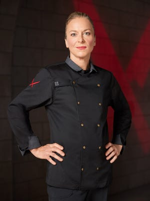 """Chef Jeanie Roland of The Perfect Caper in Punta Gorda is one of seven chefs competing on season two of Food Network's """"Iron Chef Gauntlet."""""""
