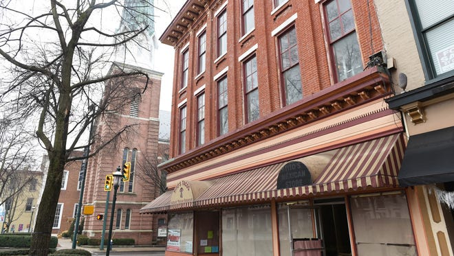 Public Opinion newspaper will be moving to a new location at One North Main Street, Chambersburg Memorial Square.