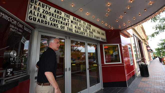 Scott Freeman has been the general manager of the Civic Theatre in downtown Farmington since 2010.