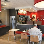 A new KFC drive-through restaurant opened in Hartland Township today.