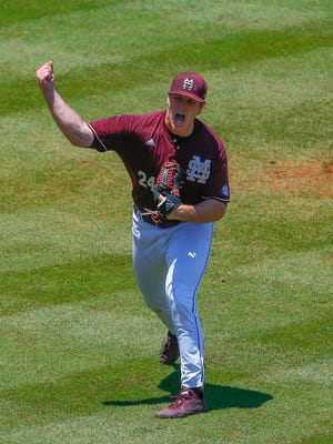 Mississippi State pitcher Cole Gordon is one of six pitchers Andy Cannizaro feels good about heading into a NCAA Regional.
