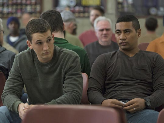 Miles Teller and Beulah Koale