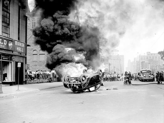Prelude To 1967 Detroit S Racial Clashes Of 1942 43