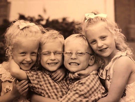 The Mackay quadruplets from Novi were born prematurely