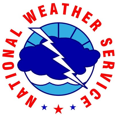 Central Louisiana residents can expect a 70 percent change of thunderstorms Monday.