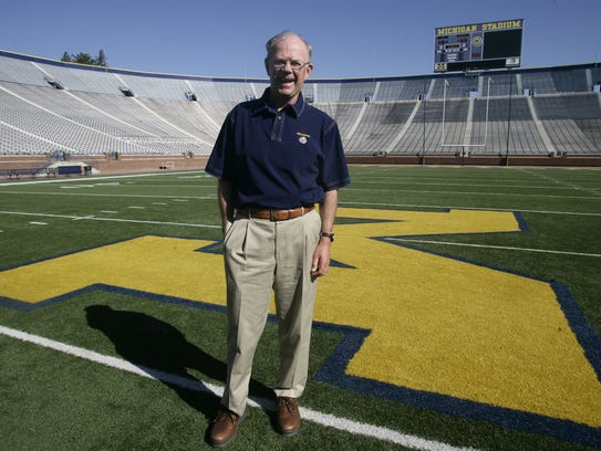 University of Michigan Athletic Director Bill Martin