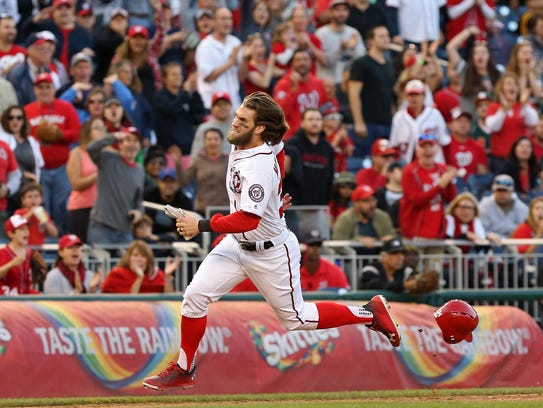 Bryce Harper and the Nationals should encounter little