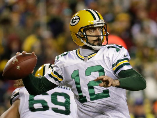 Green Bay quarterback Aaron Rodgers will lead the Packers