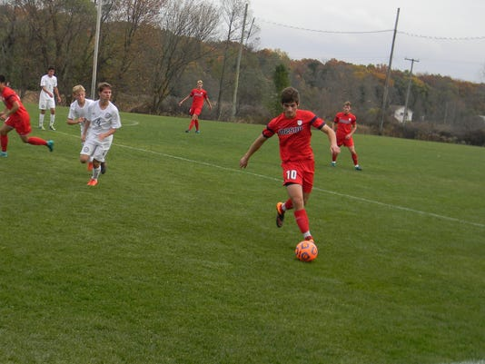 Mason-Chelsea D2 soccer district final