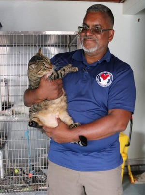 Humane Society of Port Jervis/Deerpark director Rafael Gonzalez says adoptions have been quick during the pandemic as homebound people seek animal companionship.