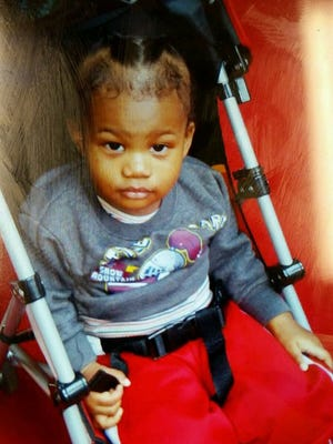 Cameron Beckford is seen in an undated photo provided by the Frederick, Md. Police Department. The mother,  Dainesha Stevens, accused of abandoning 14-month-old Cameron Beckford on the front porch of a stranger's home in Columbus, Ohio, admitted she and a male acquaintance left Cameron, last Friday, Dec. 26, because they could no longer care for the child.