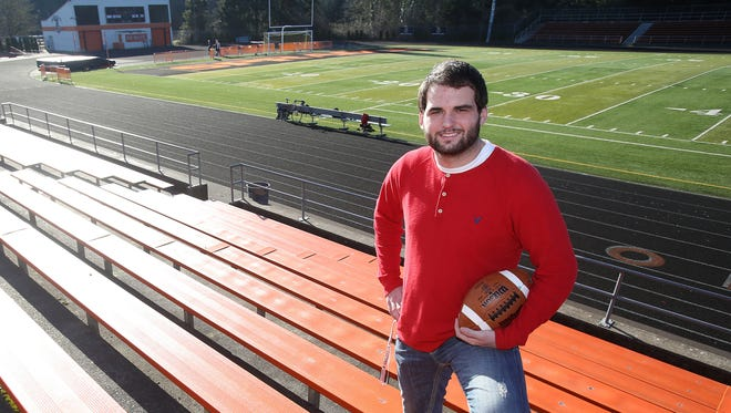 Sprague senior offensive tackle Levi Long has committed to play football at Eastern Washington. Photo taken on Thursday, Jan. 30, 2015, in Salem, Ore.