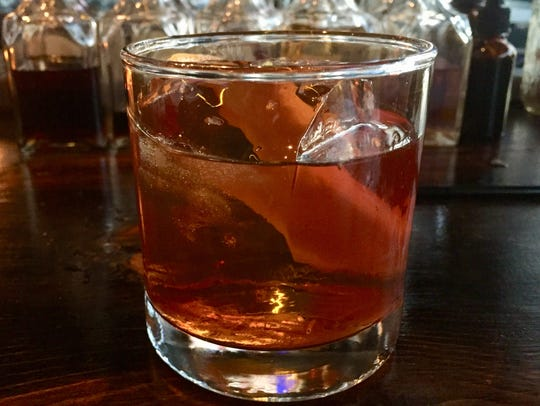 The Old Fashioned at Blind Dog Tavern is made with