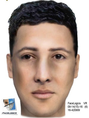 LCSO has released an updated sketch of a man accused of pretending to be a police officer to assault a woman in her home.