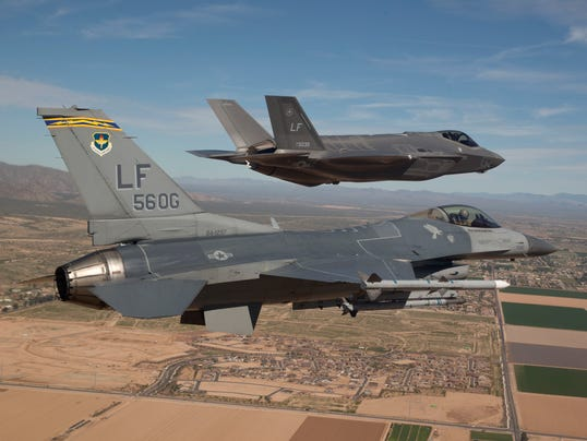 F-35 and F-16