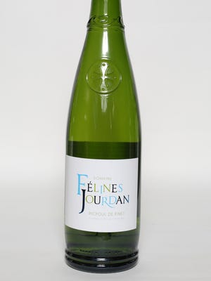 Domines Felines Jourdan Picpoul de Pinet - 2014 is part of the mixed case selected by Cai J. Palmer, the owner of Wine at Five on Purchase Street in Rye.