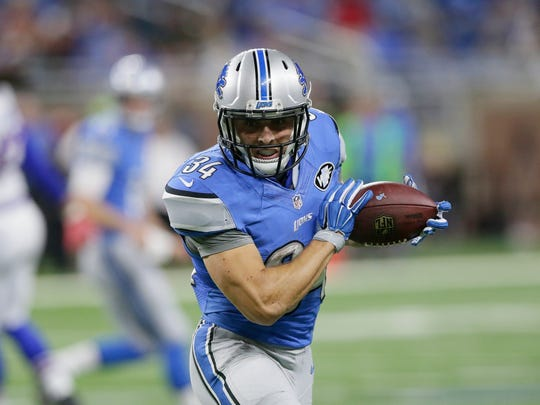 Zach Zenner will be back with the Lions in 2016.