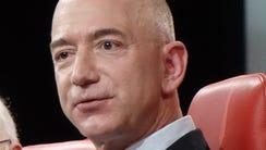 Amazon CEO Jeff Bezos at Code conference in Rancho
