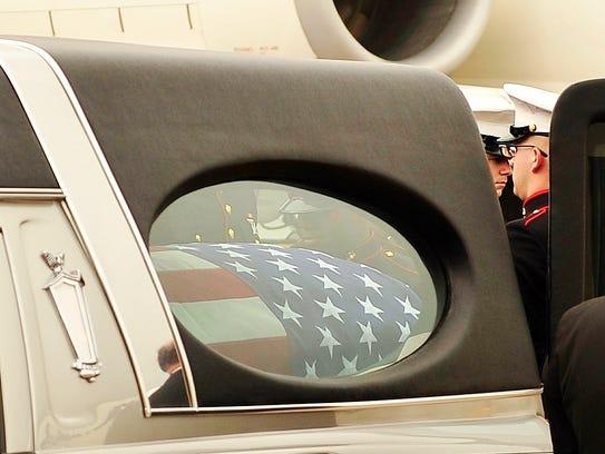 U.S. Marine Jeffrey Sempler, a Horseheads native, was