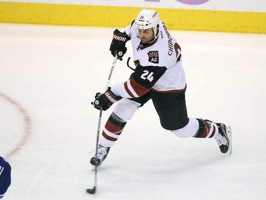NHL: Arizona Coyotes at Toronto Maple Leafs