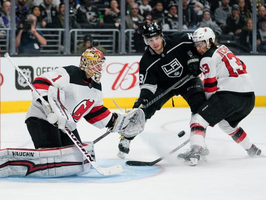 NHL: New Jersey Devils at Los Angeles Kings