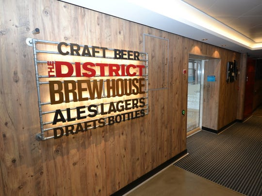 The District Brew House on Norwegian Cruise Line's