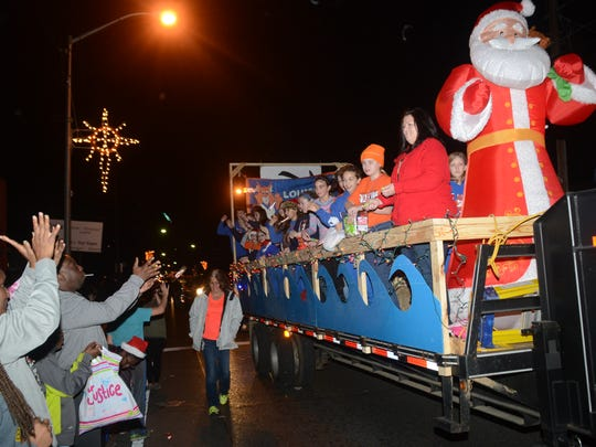 The Pineville Christmas Parade is set for 7 p.m. Dec. 11 on Main Street in Pineville. It is part of the Twelve Nights of Christmas celebration.