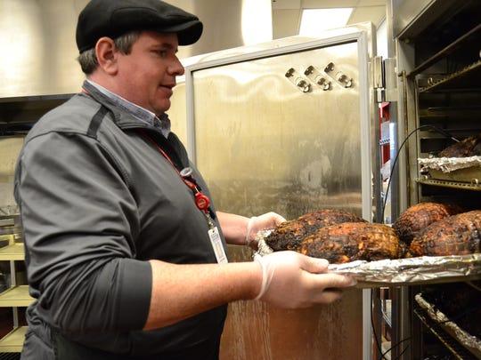 Patrick Walsh, director of Binghamton High School Food