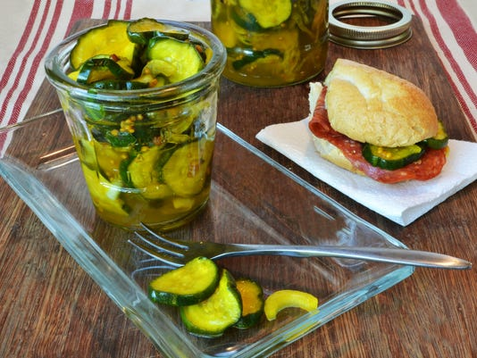 Refrigerated Bread and Buttered Pickles