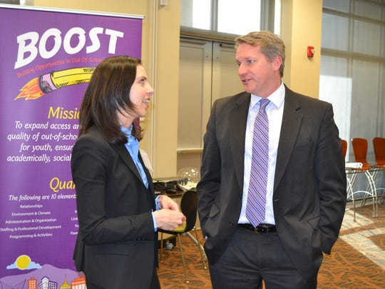 Melissa Huff, BOOST director with United Way of Greenville