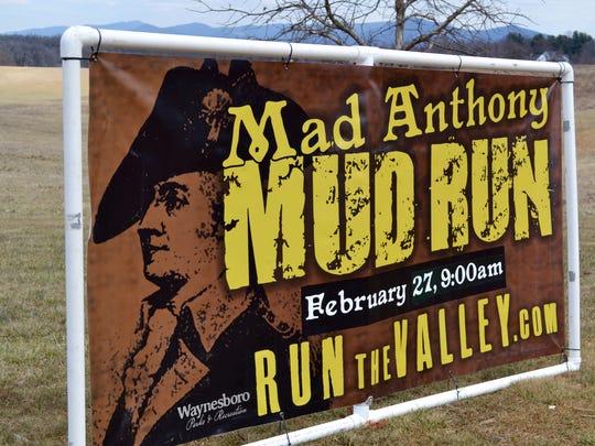 Mad Anthony Mud Run in Waynesboro.