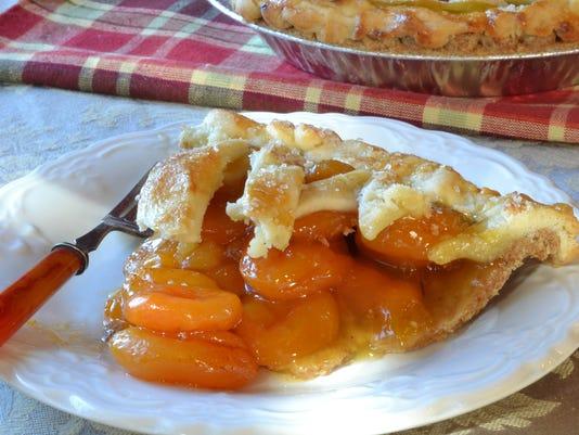 Piece of Apricot Pie