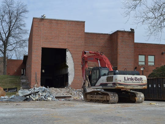 Demolition begins Thursday on the former Daily Times