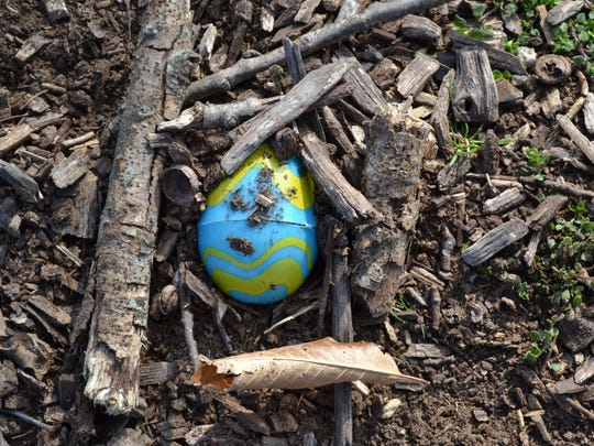 Organizers of the Waynesboro Easter egg hunt were creative