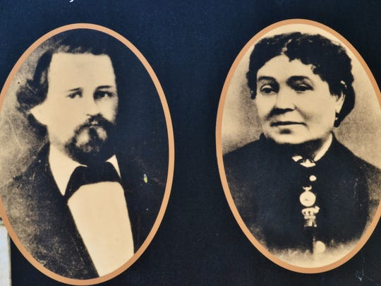 Lemuel Sanford Bowers and Eilley Bowers built Bowers